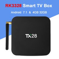 TX28 TV Box Andriod 7. 1 RK3328 4GB RAM 32GB ROM 2. 4G 5G WiFi...