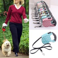 5M Retractable Dog Leashes lead Pets Cats Puppy Leash Lead A...