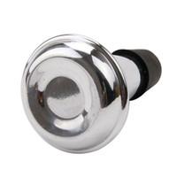 الفضة البوق المعدنية يستمتع كتم الألومنيوم الممارسة كتم حجم صغير الحجم