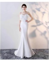 CLN3381 Mermaid New Royal Long Evening Dress 2018 Robe De So...