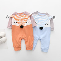 Toddler Newborn Baby Romper Infant Boys Girls Cartoon Fox Pr...