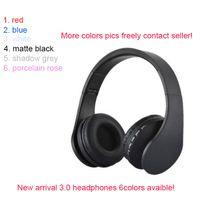 2018 Marka Kablosuz 3.0 Kulaklıklar En Kaliteli Fabrika Hızlı Sevkiyat Mühürlü Kulaklık Bluetooth Ücretsiz DHL Yeni 6 Renkler Avaideble