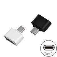Type C USB 3.0 OTG Adaptateur Type-C Mâle à Femelle USB OTG Convertisseur Pour App 5s plus 4C Samsung S8 Nexus 6P