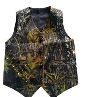 2019 real photo dark Camo Boy' s vest Camouflage Real Tr...