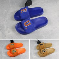 Spedizione gratuita Rihanna Leadcat Fenty FU Slides Blue Orange Slipper Slipper