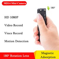 MD14 hd 1080 وعاء cmos الاستشعار البسيطة كاميرا تسجيل القلم dvr dv مسجل الحركة البسيطة كاميرا 180 درجة دوران عدسة الكاميرا الصغيرة