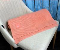 Las mujeres de invierno cara sonriente de punto gruesas de cachemir bufandas abrigo chal gruesa bufanda de punto de lana de las mujeres tippet caliente con cajas originales