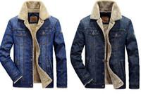 Hiver NIAN JEEP JACKET JACKET VESTEMENTS CASIEN MENUS PLUS VELOURS VELVET Manteau épais Coton manteaux