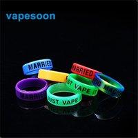 Vape Band Ring Rubber Anello in silicone per diametro 22-30mm atomizzatore sigaretta elettronica Melo 3 Mini Kit IJUST S