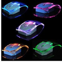 2.4 ГГц беспроводная мышь прозрачный ультра тонкий световой оптическая мышь для портативных ПК Q99 SL@88