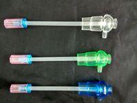 아크릴 3 만든 수제 주전자 도매 유리 봉 오일 버너 파이프 워터 파이프 유리 파이프 오일 렌지 흡연 무료 배송