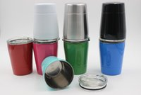 9oz Stainless Steel tumbler 9ounce wine glasses 250ML Insula...