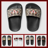 18ss designer brand slippers for men Luxury Designer green r...