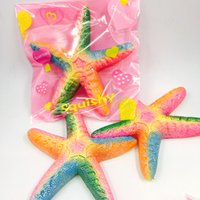 2018 New 1pcs Beautiful Squishy Jumbo Colorful Starfish Rain...