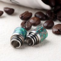 510 Poland Drip Tip Delrin Epoxy Resin Mouthpiece Wide Bore ...