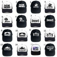 Fortnite Caps Teenager baseball cap 2018 summer Breathable s...