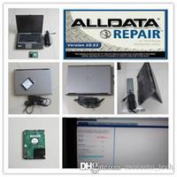 Авторемонтный инструмент для ремонта SOTWARE V10.53 ALLDATA Установлен в ноутбуке для жесткого диска Dell D630 1000GB Windows7 Автомобильный диагностический компьютер автомобиля