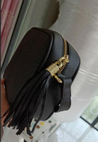 Sacchetto di modo delle donne borsa famosa borsa a tracolla del progettista di marca nappa borse SOHO signore nappa profilo litchi donne borsa a tracolla # 308364 di alta qualità