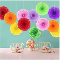 16Inch Round Paper Fans WEDDING Party DECORATIONS Home Banqu...