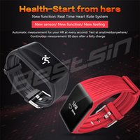 K1 Fitness Tracker Smart Bracelet Real- time Heart Rate Monit...