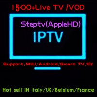 Best IPTV Europe French Belgium Arabic Italy Germany UK Step...