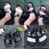 Hot style summer fashion women sandals men designer slippers...