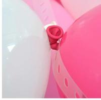 Ballons Acessórios 5 M Cadeia de Balão de PVC PVC Partido de Casamento Decoração de Pano de Fundo Decoração Balão Cadeia Arco Decoração Feliz Aniversário