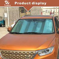 Universal Fit Auto Pára-brisas Sun Sombra Do Carro Janela Dianteira Guarda-sol-Proteção UV e Mantém o Seu Veículo Acessórios de Calor Legal / viseira / legal