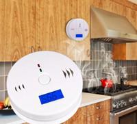 CO Karbon Monoksit Gaz Sensörü Monitör Alarm Poisining Dedektörü Test Ev Güvenlik Gözetim Için Yüksekliği Kaliteli LLFA