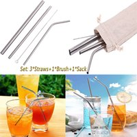 Stainless Steel Drinking Straws Reusable High Quality 304 St...