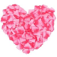 100 adet / grup Düğün Gül Yaprakları Aktif Çiçekler Petal Düğün Doğum Günü Noel Dekorasyon Gül Yapay Gül Petal