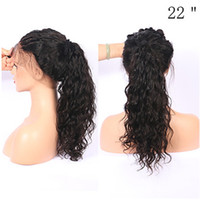 Hot Popular Natural Soft Black Curly Wavy Long Cheap Wigs wi...