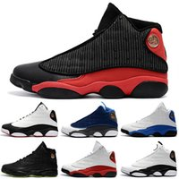 high quality New mens 13 Black Cat Basketball Shoes 13s Whit...