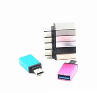 200pcs Cavo USB Metallo USB C Adattatore da USB-C a USB-A Tipo di convertitore C Cavo OTG Adattatore per cellulare Adattatore per dispositivo di tipo C
