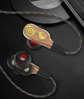 Auriculares con cancelación de ruido para auriculares con micrófono de metal de 3,5 mm universal para Xiaomi Samsung Samsung Samsung con paquete minorista
