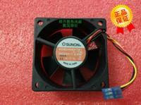 Ventilateur onduleur d'origine SUNON 6025 KDE2406PTB1 60 * 60 * 25MM DC24V 2.6W