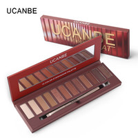 UCANBE Brand 12 Colors Molten Rock Heat Eyeshadow Makeup Pal...