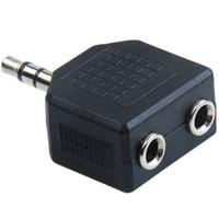 특별 프로모션 3.5mm의 스테레오 잭 남성 두 번 AUX 여성 헤드폰 이어폰 스플리터 어댑터, 오디오 Y 스플리터 어댑터 플러그 변환기