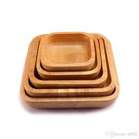 Platz Holz Salat Schüssel Geschirr Beliebte Holz Bardian Obstteller Für Home Küche Werkzeug Dessert Kaffee Gericht 38xy dd