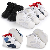 2018 New  Patchwork Infant Toddler Baby Boy Girl Soft Sole Crib Shoes Sneaker Newborn Casual Shoes
