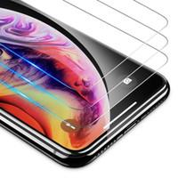 Protecteur d'écran en verre trempé 2.5d 9h 0.3mm pour iPhone 13 Pro Max 12 cas Sam A72 A52 A32 Moto G STYLUS 5G G20 G50 G50 G100 G30 avec emballage de détail B