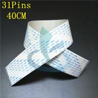 Сверхпрочный F186000 F187000 DX5 Кабель для печатающей головки для Epson Stylus Pro 4880 7880 9880 7800 Кабель с сольвентной головкой принтера 31 pin 40cm 30pcs