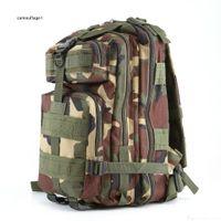 Практические популярные натуральные спортивные спортивные камуфляжные рюкзаки Военные энтузиасты скалолазание пакет на ноге рюкзак плечи 3 P Tactics DHL бесплатно