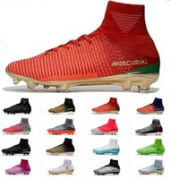 2018 Mercurial Superfly V CR7 FG Mens Soccer Shoes Cristiano...