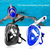 M6108 2018 Underwater Scuba Diving Mask Anti Fog Full Face S...