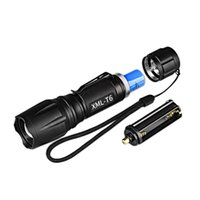 XM- L T6 1000LM Aluminum Waterproof Zoomable LED Flashlight T...