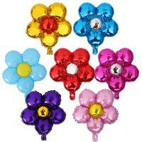 Пять цветок фольги воздушные шары декоративные пять листьев клевера партии воздушный шар 58*50 см прекрасный алюминиевые шары игрушки для Childern подарки