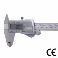 Freeshipping 0-150mm الرقمية الفرجار أدوات قياس الفولاذ المقاوم للصدأ الإلكترونية ملم / بوصة رنيه الفرجار أدوات القياس