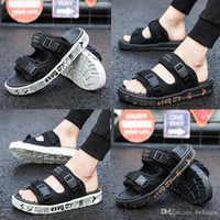2018 compile Slippers Summer men' s shoes flip flops for...