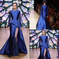 Tony Ward 2019 Autumn Evening Dresses Long Sleeves Jewel Spl...
